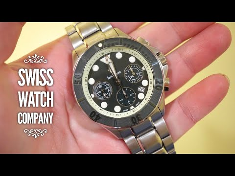 Swiss Watch Company Chronograph Review - Valjoux 7753