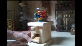 Make A Push Button Candy Dispenser