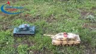 Детские радиоуправляемые танки! Новые возможности игры!(Игрушечный радиоуправляемый танк с боевой окраской выглядит совсем как настоящий! Такая игрушка придется..., 2014-07-18T08:00:12.000Z)