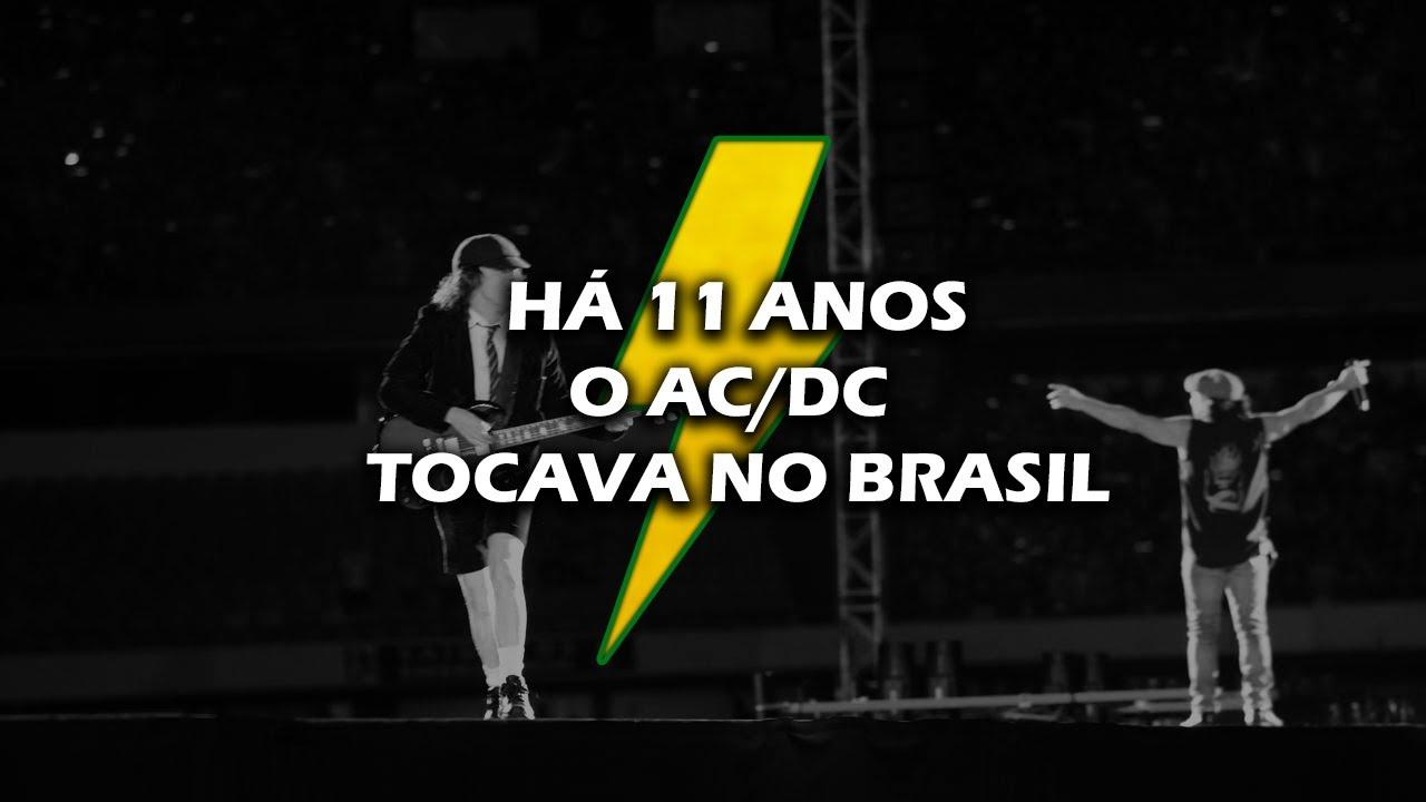 Há 11 anos: Reportagem Jornal da Globo sobre show do AC/DC no Morumbi em 2009