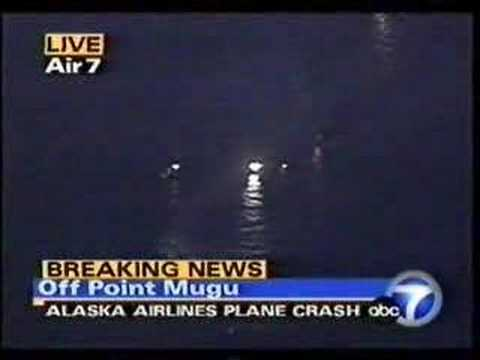 Alaska Airlines 261 Initial Footage Youtube