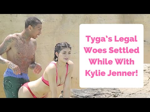 Tyga's Legal Woes Settled During Vacation With Kylie Jenner!