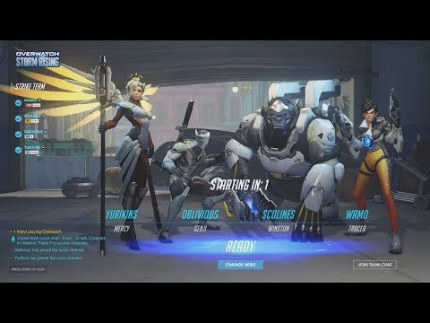 Overwatch Storm Rising Gameplay - Overwatch Archives Event 2019