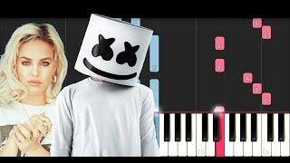 Marshmello Ft Anne Marie FRIENDS Piano Tutorial.mp3