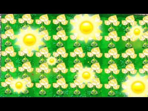 GOLDBLOOM GIVES YOU INFINITE SUN FOR FREE?! (Secret Plant) - Plants Vs Zombies 2