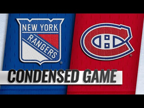 12/01/18 Condensed Game: Rangers @ Canadiens