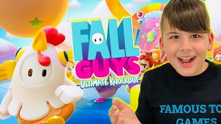 FALL GUYS ΜΕ ΤΟ ΠΑΙΧΝΙΔΙ ΠΟΥ ΚΟΛΛΗΣΑΝ ΟΛΟΙ ΟΙ YOUTUBERS Fall Guys: Ultimate Knockout FAMOUS GAMES