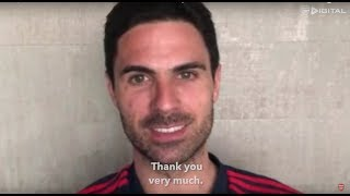 An update from Mikel Arteta   Coronavirus, isolation and recovery