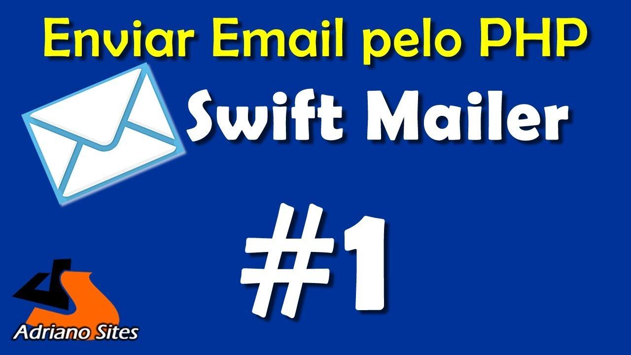 Enviar Email no PHP com Swift Mailer - parte 1
