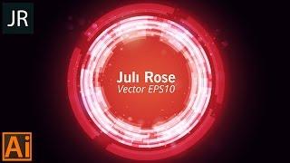 Векторная графика в Аdobe illustrator   Juli Rose