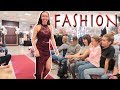 TEEN FASHION SHOW! HER FIRST MODELING GIG!