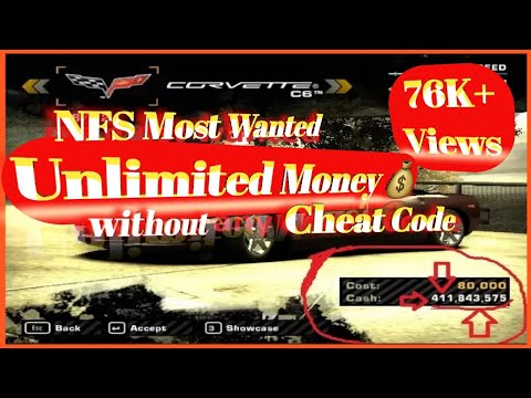 hack money need for speed most wanted 2005 - Get Unlimited money without any cheat code 100% working || NFS MW 2005||