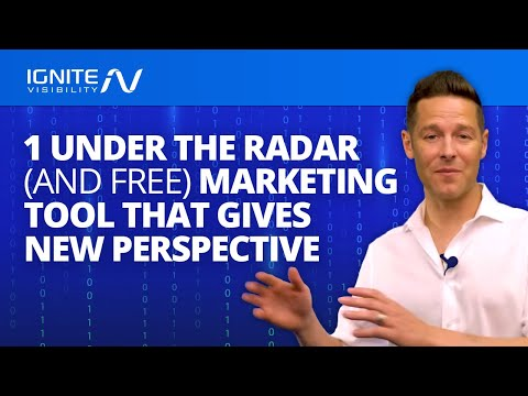 1 (Under The Radar) Free Marketing Tool