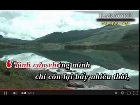 karaoke : trich doan  huyen tran biet khac chung -(KIM HANG) - moi song ca