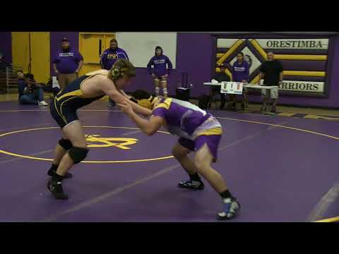 Big Valley Christian vs Orestimba High School Wrestling Dual