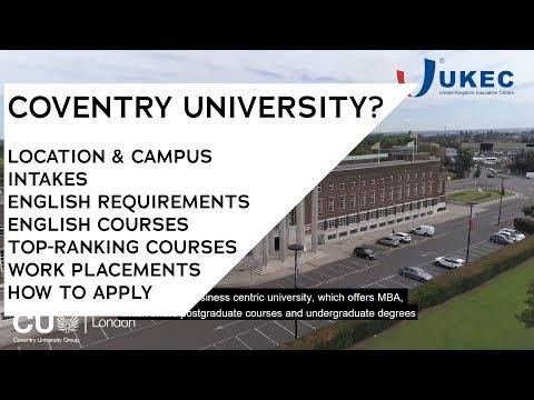 What's Unique About Coventry University? - UKEC