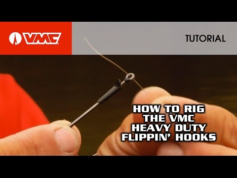 Rigging The VMC® Flippin' Hook: HOW TO FISH