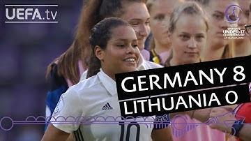 Women's U17 highlights: Germany v Lithuania
