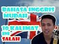 10 Contoh Kalimat Bahasa Inggris Yang Salah