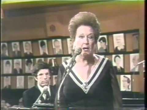 Ethel Merman, Marvin Hamlisch, Sardi's Broadway Salute, 1976 TV