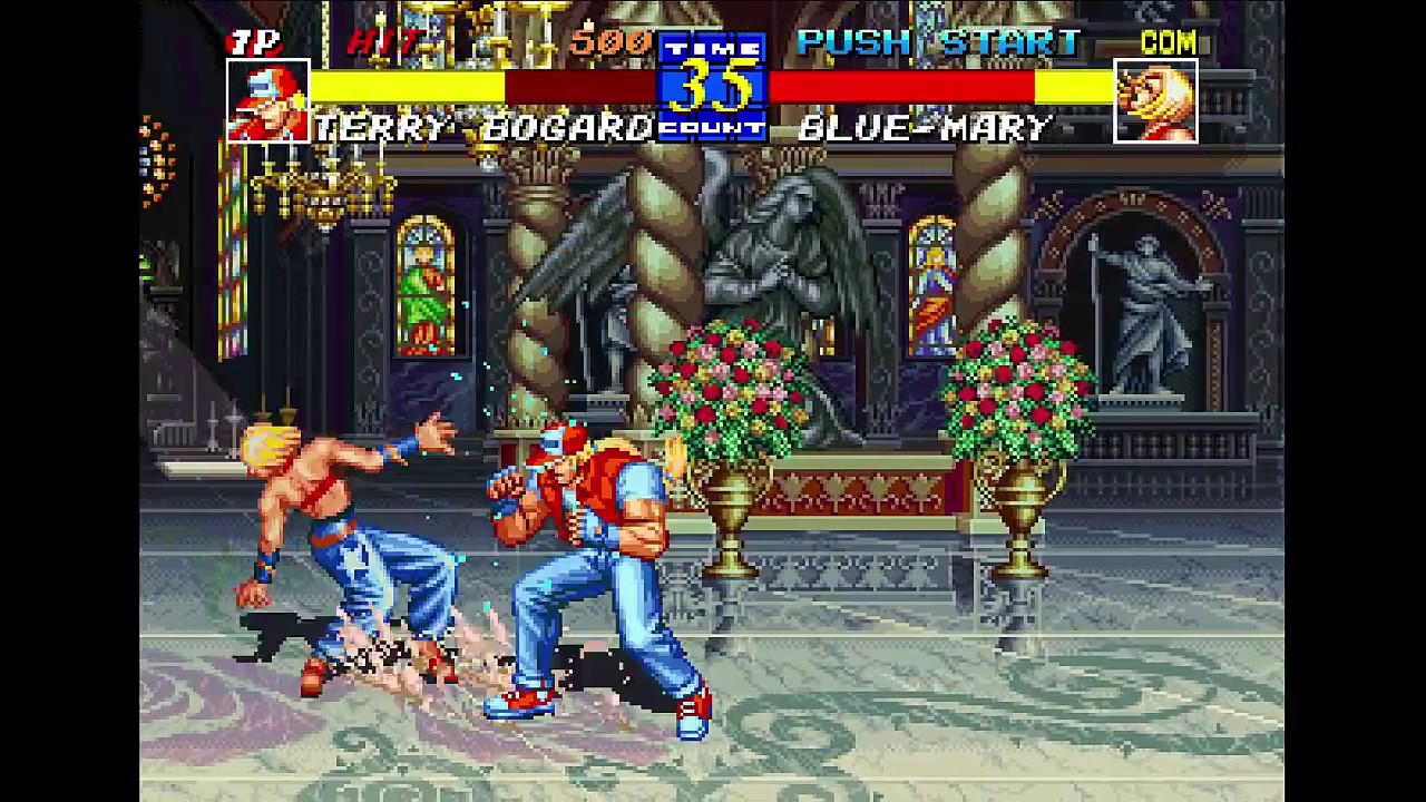 Fatal Fury 3 - Neo Geo CD /Walkthrough /Gameplay
