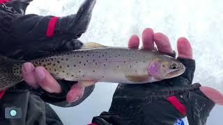 First Ice Fishing Fall 2018