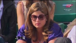 Roland Garros 2009 SF   Federer vs Del Potro Highlights