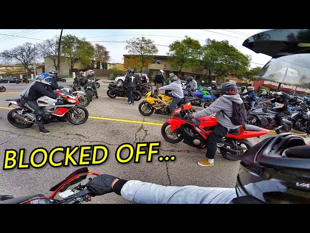 SUNDAY FUNDAY RIDE HAS A HUGE TURN OUT!