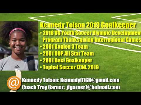 Kennedy Tolson 2019 Goalkeeper -- ODP Thanksgiving Interregional Highlights (2016)