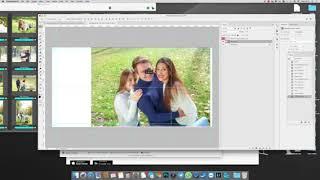 Верстка фотокниги в Photoshop
