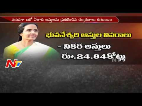 Nara Lokesh Declares Their Family Assets and Income || NTV