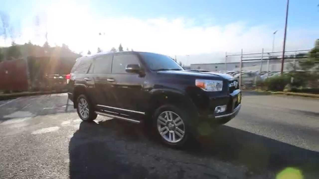 2015 Toyota 4runner Black D5113033 Redmond Seattle