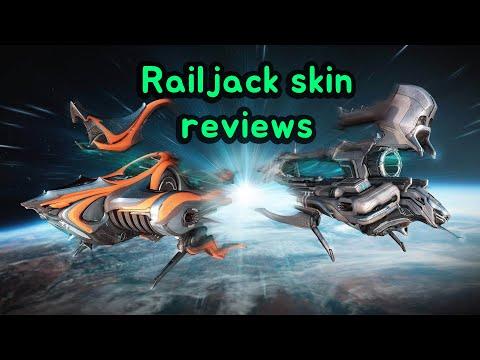 Warframe. Railjack Skin Reviews. (Basic, Sungem, Caballero)