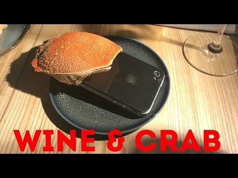 "Куда сходить в Москве: ресторан ""Wine And Crab"""