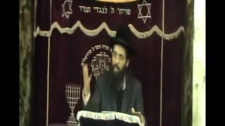הרב יעקב בן חנן הרצאה בשדרות בנושא שמירת העיניים