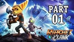 Ratchet and Clank PS4 Gameplay German Part 1 - Spiel zum Film - Let's Play Ratchet and Clank Deutsch