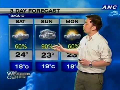 Weather Forecast For The Last Days Of 2012 Youtube