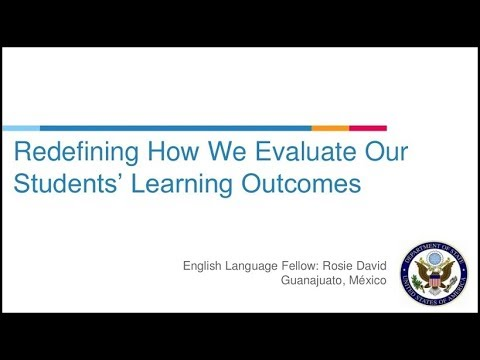 Redefining How We Evaluate Our Students' Learning Outcomes [RELO Andes Webinar]