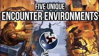 5 Unique Encounter Environments for Combat
