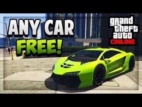 """GTA 5 Online - HOW TO GET """"ANY CAR"""" FREE (Tutorial) [PS3,PS4,XboxOne,Xbox360]"""