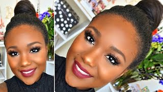 100% Drugstore Makeup Tutorial 2016 I Beginner Smokey Eyes Palette