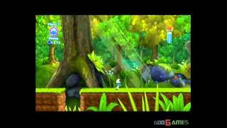 The Smurfs 2 - Gameplay Wii (Original Wii)