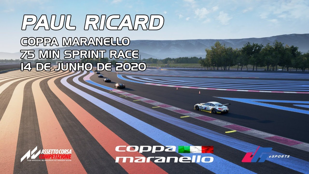 Coppa Maranello :: Paul Ricard :: 75 minutos Sprint Race