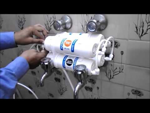Bath Water Purifier Demo Installation & working