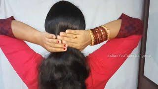 Easy Wedding Hairstyles | Bun Hairstyles | Hairstyles for medium or long hair