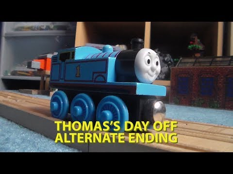 WOODEN Thomas and friends|Thoams's Day Off Alternate Ending|#4
