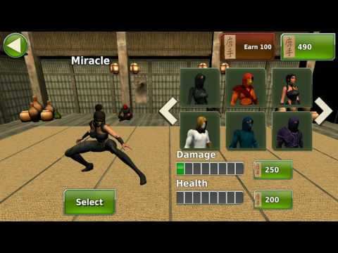 Ninja Kung Fu  Fighting  for  3D - 2.   Ninja Kung Fu Fighting style to Osm game