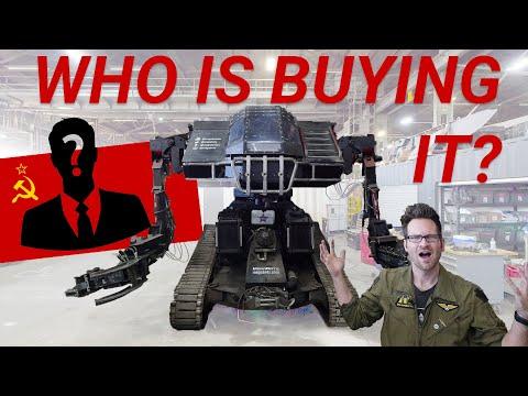 Who Bought Megabots' Eagle Prime Robot?