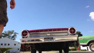 Porter Mufflers on a 1963 Ford Galaxie 500 352 V8
