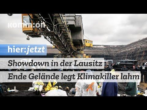 Showdown in der Lausitz – Ende Gelände legt Klimakiller lahm. Nicht alle sind dafür.